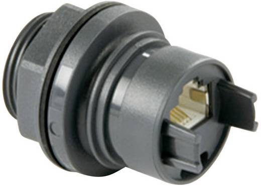 Bulgin PXP6033/TP Inbouwkoppeling thermoplastic RJ45 Inhoud: 1 stuks
