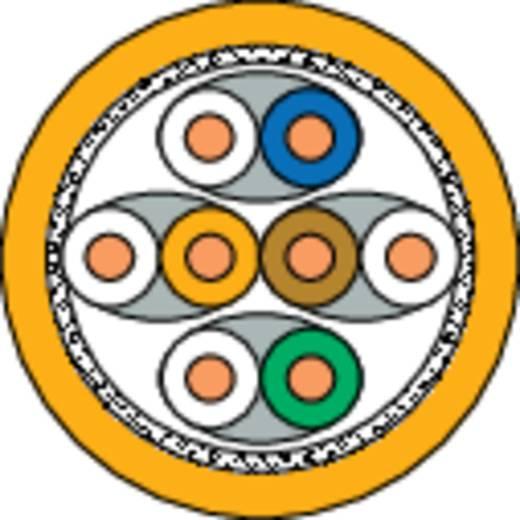 Netwerkkabel DRAKA 1001036-00250DW CAT 7 S/FTP 4 x 2 x 0.25 mm² Oranje Per meter