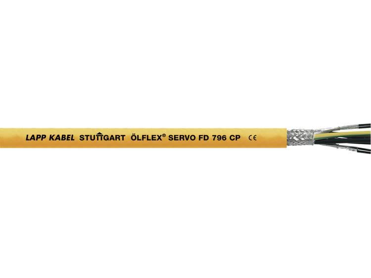 LAPP ÖLFLEX® SERVO FD 796 CP Servokabel 4 G 1.50 mm² 2 x 1.50 mm² Oranje 00279