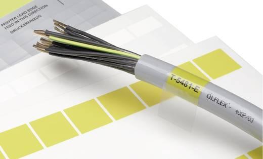 Kabeletiket Fleximark 25 x 19 mm Kleur van het label: Geel<