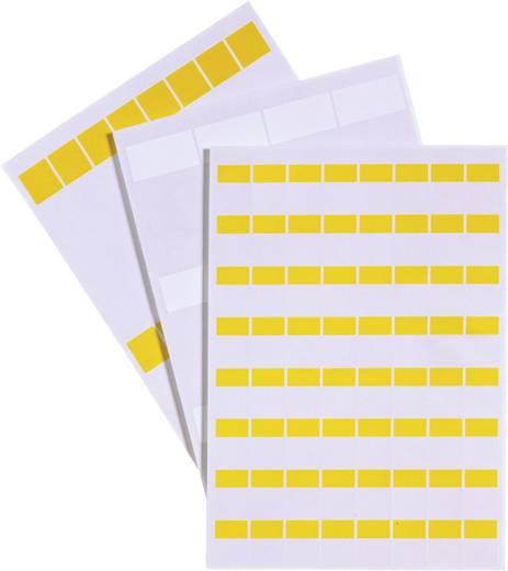Kabeletiket Fleximark 25 x 19 mm Kleur van het label: Wit<b