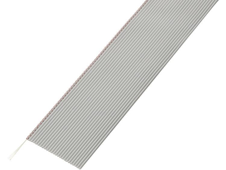 Conrad Components SH1998C203 Lintkabel Rastermaat: 1.27 mm 25 x 0.035 mm² Grijs 30.5 m