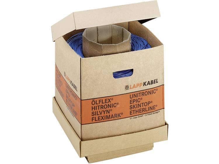 LappKabel 4510003K Draad H05V-K 1 x 1 mm² Groen-geel 2000 m