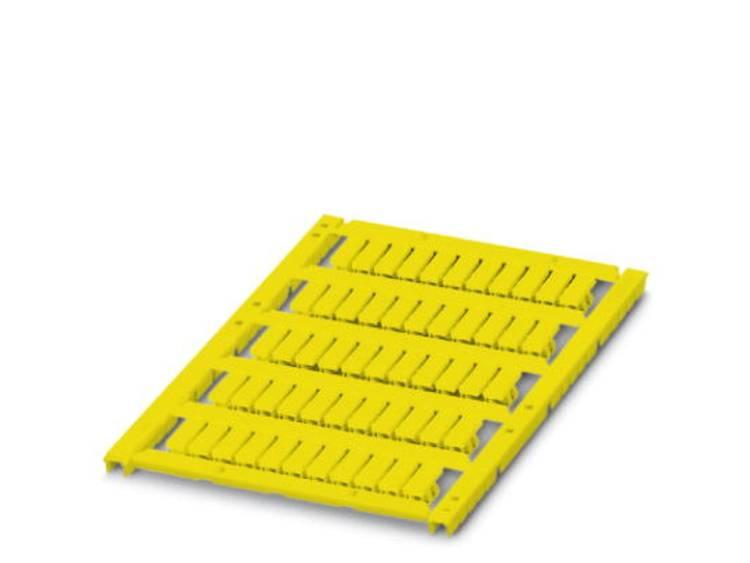 Kabelmarkering Montagemethode: Rijgen Markeringsvlak: 12 x 4 mm Geschikt voor serie Enkele aders Geel Phoenix Contact UCT-WMS 3,2 (12X4) YE 0828572 Aantal