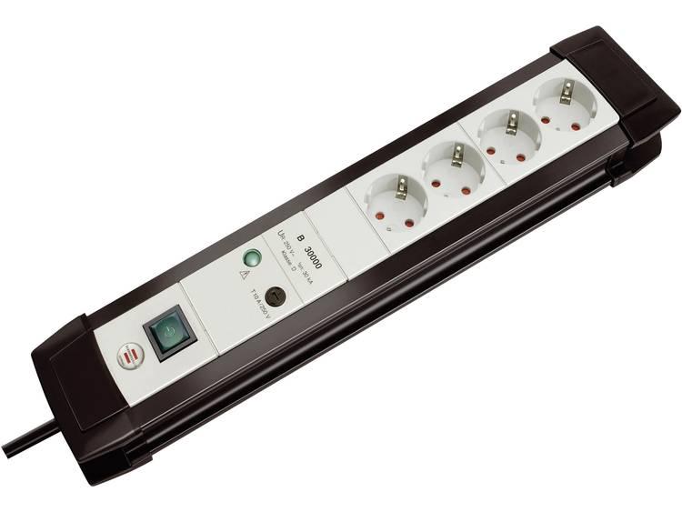 Brennenstuhl Premium-Line 4-ports + Schakel