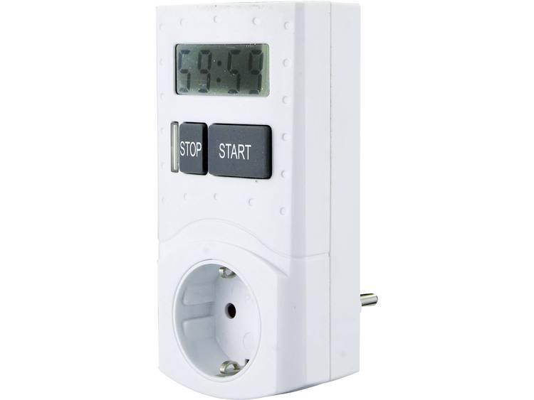 GAO EMT 799-60M Stekkerdoos-timer Digitaal Dagprogramma 3680 W IP20 2-polig