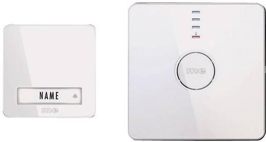 Draadloze deurbel Complete set m-e modern-electronics Bell 201.2 Set 40989