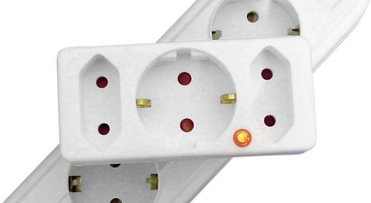 TZU 5-03 TZU 5-03 Overspanningsbeveiliging (tussenstekker) Overspanningsbeveiliging voor: Stopcontact