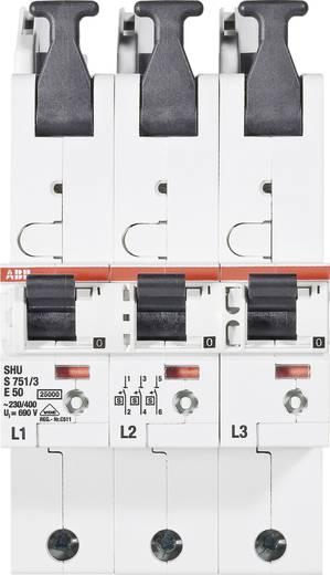 Zekeringautomaat 3-polig 50 A ABB 2CDS781001R4502