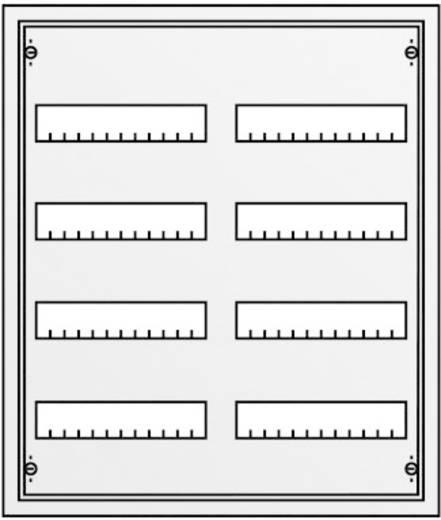 Striebel & John 30102 U42 Verdeelkast Inbouw Aantal groepen = 96 Aantal rijen = 4