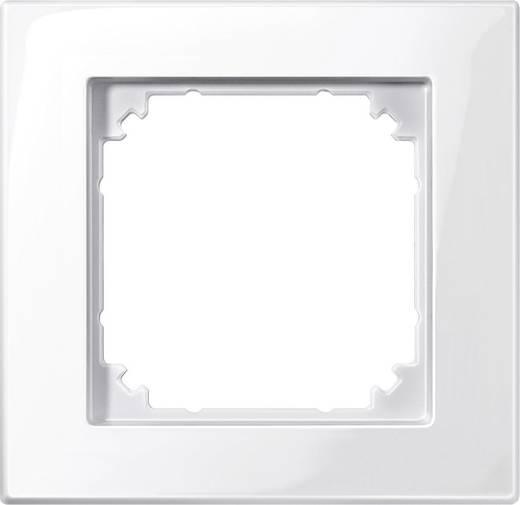 Merten 515119 Afdeklijst enkel M-plan sneeuw-wit glanzend Polar-wit glanzend