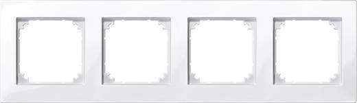 Merten 515419 Afdeklijst 4-voudig M PLAN sneeuw-wit glanzend Polar-wit glanzend