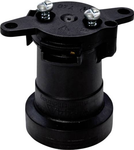 1074011300 Lampfitting E27 230 V 60 W Zwart