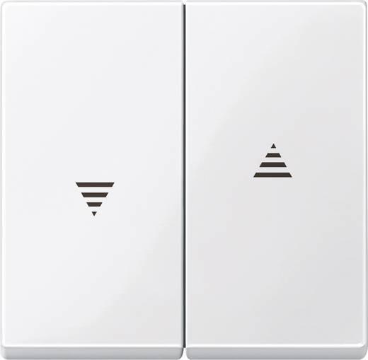 Merten 432419 Kanteltoets jaloezieschakelaar en -toets Systeem M Polar-wit glanzend