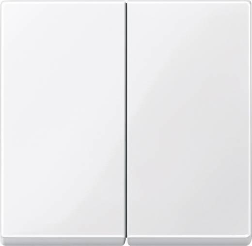 Merten 432519 Kanteltoets serieschakelaar Systeem M Polar-wit glanzend
