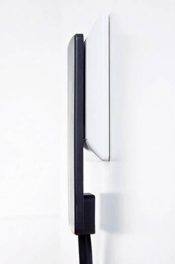 Platte stekker met randaarde Kunststof 230 V Zwart IP20 EVOline 103219