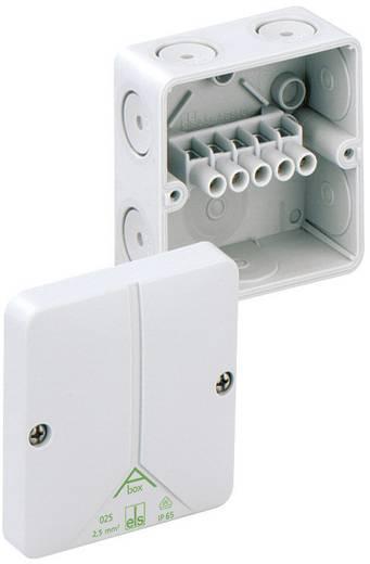 Verbindingsdoos (l x b x h) 80 x 80 x 52 mm Spelsberg 80240701 Grijs IP65
