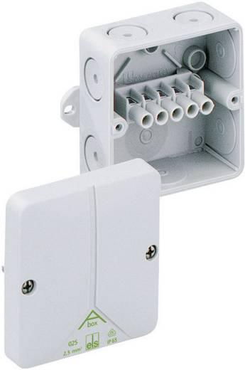 Spelsberg met 5-polige schroefklem tot 4 mm² Verbindingsdozen Abox 040 AB-4² 80540701 Grijs