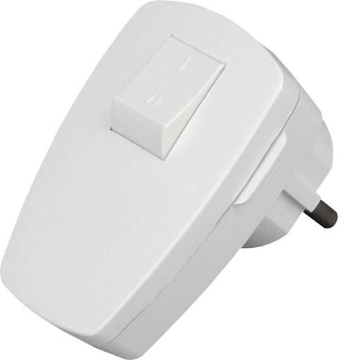 Haakse stekker met randaarde Kunststof 230 V Wit IP20 Kopp 170402006