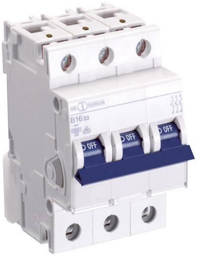 Zekeringautomaat 3-polig 16 A ABL Sursum B16S3