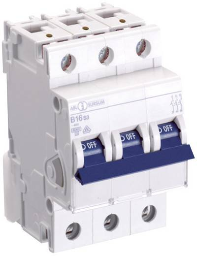 Zekeringautomaat 3-polig 16 A ABL Sursum C16S3