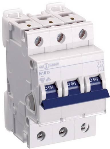 Zekeringautomaat 3-polig 32 A ABL Sursum K32T3
