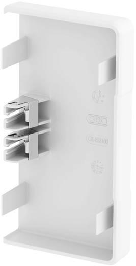 OBO Bettermann eindstuk rechts voor kabelgoot 100 mm Zuiver wit 1 stuks
