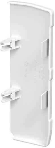 OBO Bettermann eindstuk rechts voor kabelgoot 160 mm Zuiver wit 1 stuks