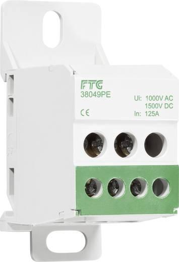 FTG Friedrich Göhringer 38049PE Aansluitverdeelblok Groen 1-polig 80 A