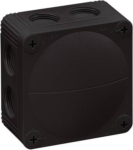 Wiska 308 Combi 308-aftakdoos zwart 10060581 Zwart