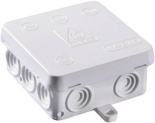 Wiska 10060822 Lasdoos voor vochtige ruimtes KA 12 Grijs (RAL 7035) IP54