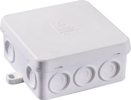 Wiska 10060550 Lasdoos voor vochtige ruimtes KA 14 Grijs (RAL 7035) IP54