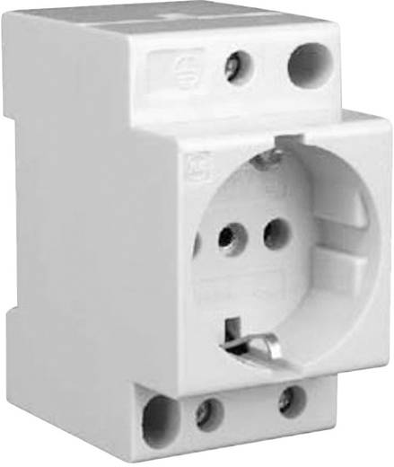 DIN-rail contactdoos zonder klapdeksel 16 A 250 V/AC Eaton 266875