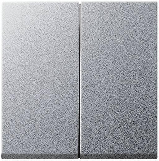 Serieschakelaar GIRA System 55, Standaard 55, E2, Event, Event Clear, Event Opaque, Esprit, ClassiX Afdekking Aluminium