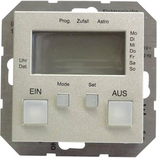 GIRA Inbouw Schakelklok System 55, Standaard 55, E2, Event, Event Clear, Event Opaque, Esprit, ClassiX Aluminium 0385 2