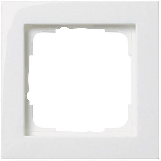 GIRA 1-voudig Frame E2, Standaard 55, System 55 Zuiver wit 0211 29