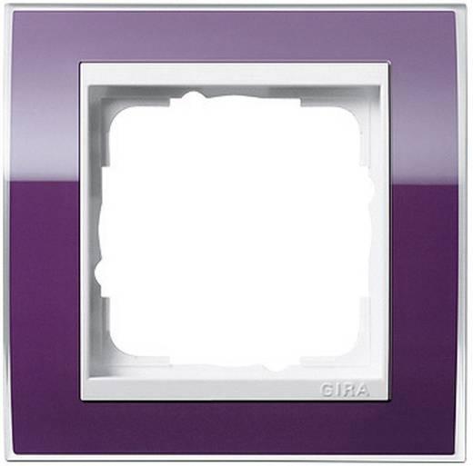 GIRA 1-voudig Frame Event Clear, Standaard 55, System 55 Aubergine 0211 753