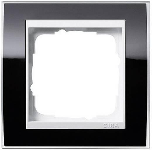 GIRA 1-voudig Frame Event Clear, Standaard 55 Zwart 0211 733