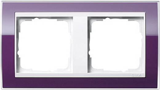 GIRA 2-voudig Frame Event Clear, Standaard 55, System 55 Aubergine 0212 753