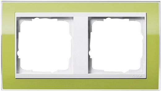 GIRA 2-voudig Frame Event Clear, Standaard 55, System 55 Groen 0212 743
