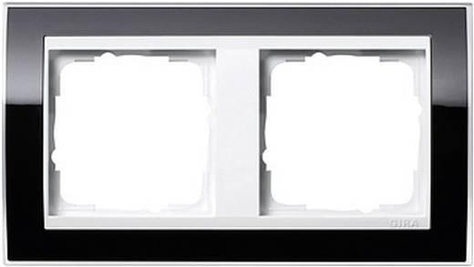 GIRA 2-voudig Frame Event Clear, Standaard 55, System 55 Zwart 0212 733