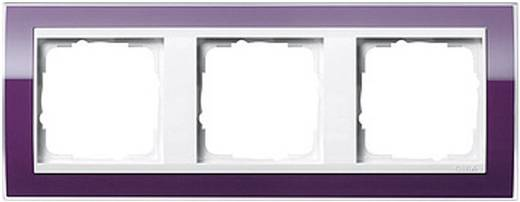 GIRA 3-voudig Frame Event Clear, Standaard 55, System 55 Aubergine 0213 753