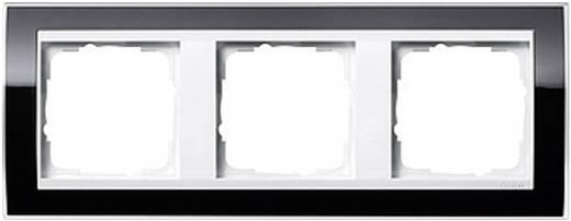 GIRA Event Clear, Standaard 55, System 55 3-voudig Frame Zwart 0213 733