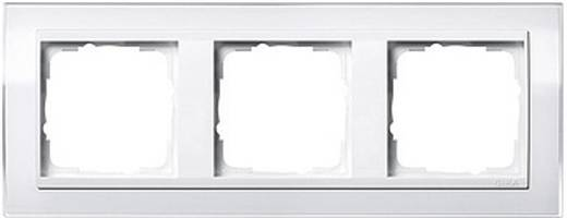 GIRA 3-voudig Frame Event Clear, Standaard 55, System 55 Wit (glanzend) 0213 723