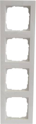 GIRA 4-voudig Frame E2, Standaard 55 Zuiver wit 0214 29