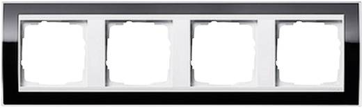 GIRA 4-voudig Frame Event Clear, Standaard 55, System 55 Zwart 0214 733