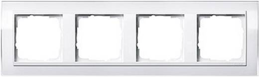 GIRA 4-voudig Frame Event Clear, Standaard 55, System 55 Wit (glanzend) 0214 723