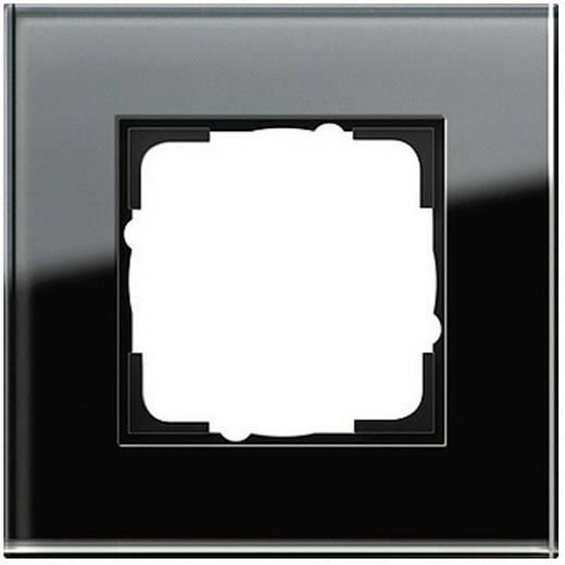 GIRA 1-voudig Frame Esprit, Standaard 55, System 55 Zwart 0211 05