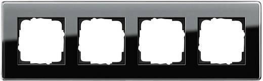 GIRA 4-voudig Frame Esprit, Standaard 55, System 55 Zwart 0214 505