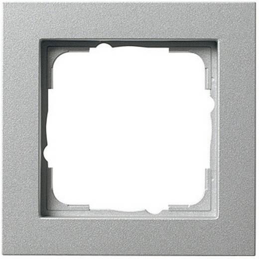 GIRA 1-voudig Frame E2, Standaard 55, System 55 Aluminium 0211 25